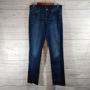 Lucky Brand sweet n straight blue jeans